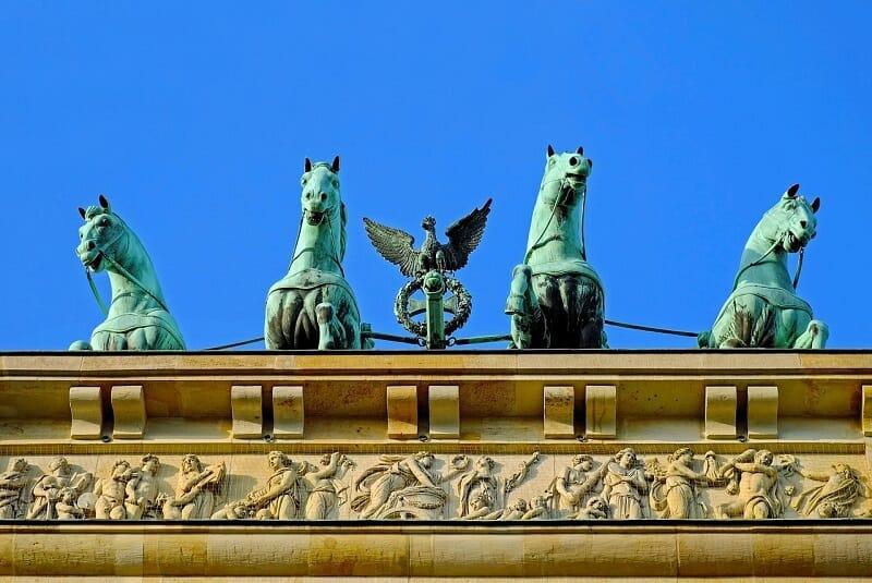 ברלין אתרים מעניינים - שער ברנדנבורג